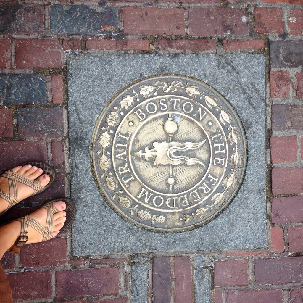 The day before my birthday I finally finished my goal to do the Freedom Trail.