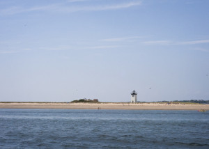 The place in Provincetown where the Mayflower first anchored in North America.